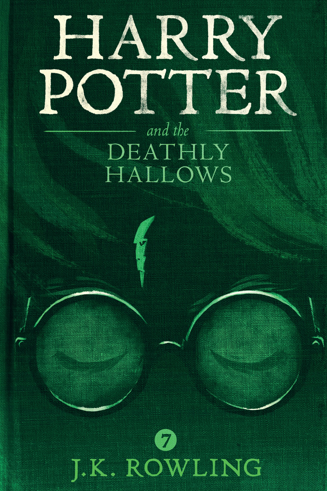 Olly Moss Deathly Hallows cover